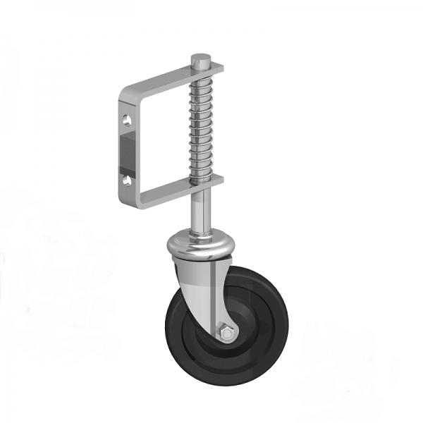 Medium Duty Spring Loaded Gate Wheel BZP 11