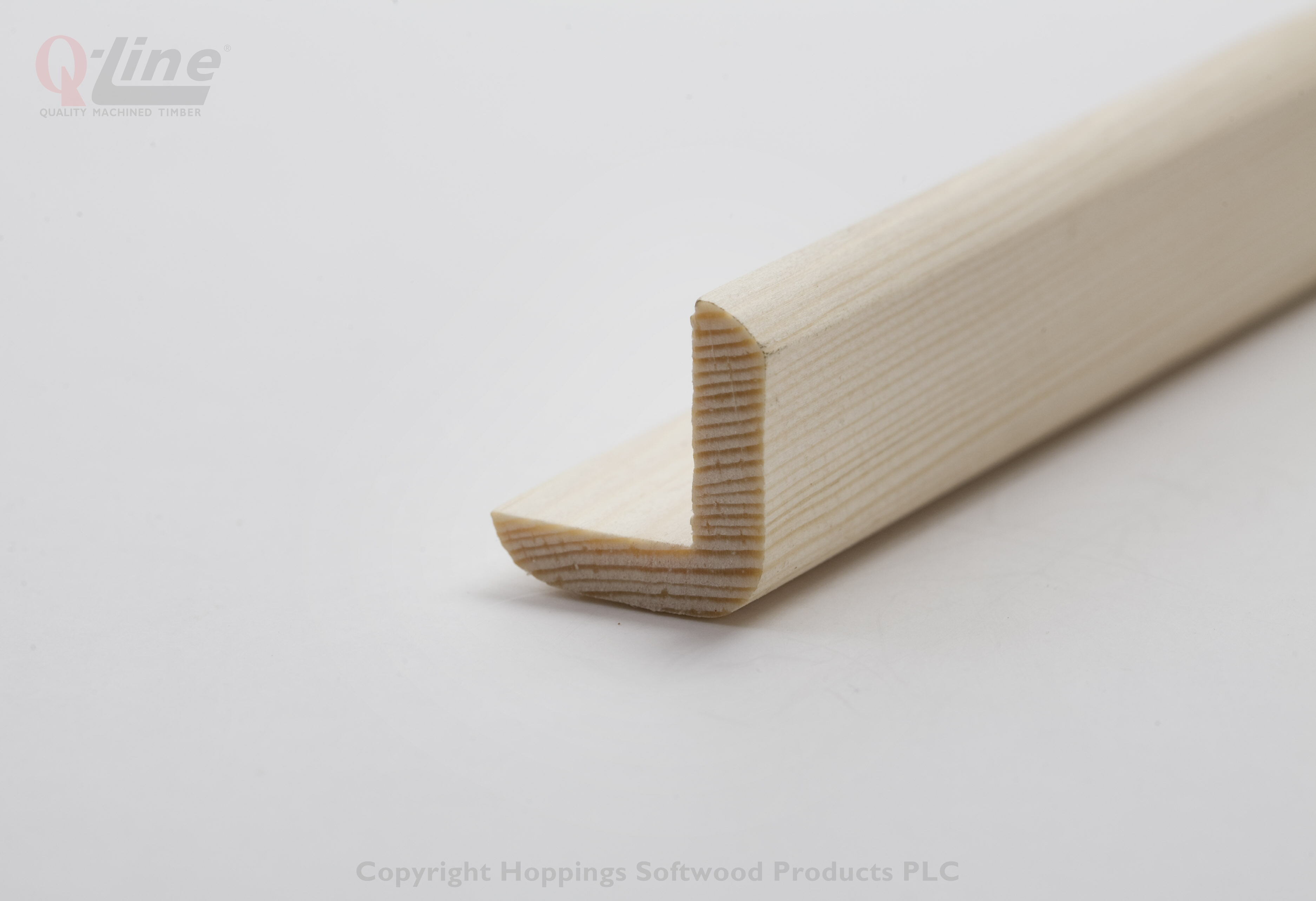 42 x 42mm Finish size Corner Cushion  2.4m